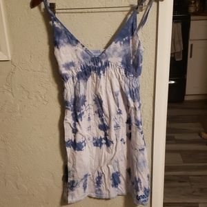 NWOT O'Neill tiedye vneck summer dress